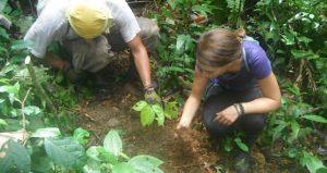 Volunteer in Amaru Mayu of Manu Reserve